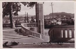 PONTEVEDRA. PAISAJE DESDE LA ROTONDA DE ALAMEDA. UNIQUE ED. CIRCULEE CIRCA 1930s TO ARGENTINE- BLEUP - Pontevedra