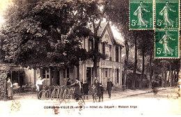 77 . Seine Et Marne .  Combs La Ville .  Hotel Du Départ : Maison Arga . - Combs La Ville