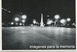 IMAGENES PARA LA MEMORIA VISTA PLAZA DE MAYO 1976 POSTAL MODERNA PUBLICIDAD ARGENTINA  -LILHU - Reclame