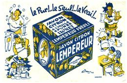 S L / Buvard Savon Lempereur   (N= 1) - Buvards, Protège-cahiers Illustrés