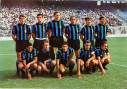 INTERNAZIONALE F. C. Facchetti Suarez Burgnich Domenghini Corso Mazzola  A S 1966-67 - Fussball