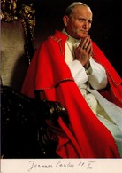 POSTAL DE ITALIA, PAPA JUAN PABLO II. (314) - Papas