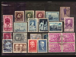 O/Used-Belgique 1910 TO 1956 COLLECTION LOT OF KEY SELECTED STAMPS COMMEMORATIVES CATALOGUE VALUE MICHEL EURO 170 - Belgium