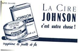 C J/Buvard Cire Johnson (Format 14 X 21) (N= 1) - Buvards, Protège-cahiers Illustrés
