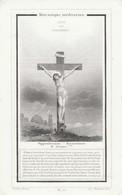Dp  Lambertus Mortelmans-mechelen- 1870-professor Groot Seminarie En Aartsdiaken - Devotion Images