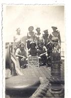 """""""SOUVENIR DE CAMPAGNE DAKAR 1940 -LES SOVIETS""""   PHOTO SEPIA - Bateaux"""