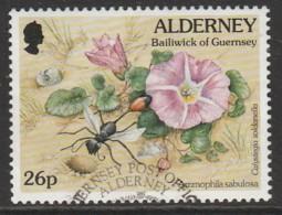 Alderney 1997 Fauna And Flora - New Values 26 P Multicoloured SW 102 O Used - Alderney