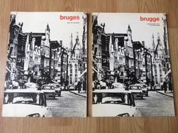 Brugge Struktuurplan Voor De Binnestad - Plan De Structure 48 Pages Blz 1973 Revue A+ - Revues & Journaux