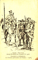Cavalerie Et Infanterie De L'armée Polonaise En France 1918 - Armji Polskiej - Pologne