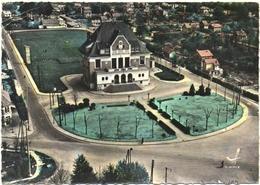 CPSM DE SAINTE-GENEVIEVE-DES-BOIS  (ESSONNE)  L'HÔTEL DE VILLE FACADE OUEST - Sainte Genevieve Des Bois