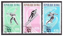 MALI 1976 Olympics Figure-skating Skiing Speedskating Used - Winter 1976: Innsbruck