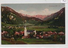 HINDELANG-PANORAMA -VIAGGIATA 1911 - Hindelang