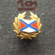Badge Pin ZN006417 - Rowing / Kayak / Canoe PZTW Poland Federation Association Union - Rowing