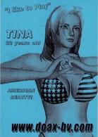 POSTAL DE BELGICA, TINA - CHICA. (362) - Publicidad