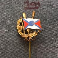 Badge Pin ZN006973 - Rowing / Kayak / Canoe PZTW Poland Federation Association Union - Roeisport