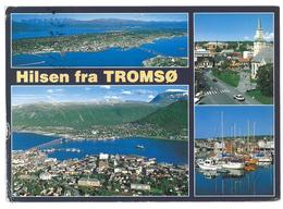 Norvegia Norge Norway Tromsø Viaggiata 1992 - Norvegia