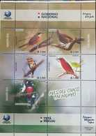 RO) 2018 PARAGUAY,BIRD DIVERSITY -BIRDS OF CHACO, TETA REKUAI, SHEET MNH - Paraguay