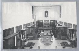 CA.- La Trappe N. D. De Mistassini, Village Des Pères. P. Q. L'église Abbatiale. - Quebec