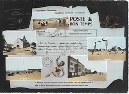 CPA-1960-62-WISSANT-La POSTE Du Bon Temps-MULTIVUES-TBE - France