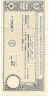 5-CACCIA-CERTIFICATO DEL BANCO NAZIONALE DI PROVA CARABINA AUTOMATICA BERETTA CAL.20 - Sport