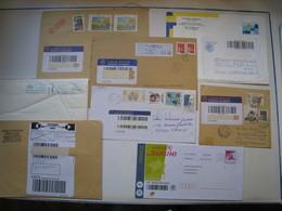 8 Lettres SUIVIES .....pour étude....à Voir - 1961-....