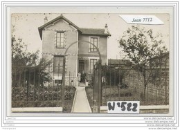 3801 AK/PC/CARTE PHOTO/N°522/MAISON A IDENTIFIE - Cartoline