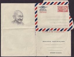 India - 1969 - Poste Aérienne - Aérogramme - Centenaire De Gandhi - Mahatma Gandhi