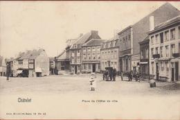 Chatelet Place De L' Hotel De Ville Animee - Châtelet