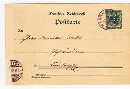 Wehrheim Im Taunus, 2 Karten Von 1894 Und 1899 - Historical Documents