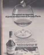 (pagine-pages)PUBBLICITA' BRANDY FLORIO  Oggi47/77 - Libri, Riviste, Fumetti