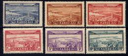 MAROC - A34/39** - VUES - Morocco (1891-1956)