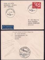 Suède - 1960 - Stockholm - Arlanda - Jet - Aérodrome - Lettres & Documents
