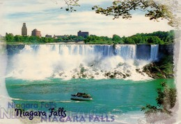 POSTAL DE CANADA, CATARATAS - NIAGARA FALLS. (340) CIRCULADA - Postales Modernas