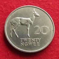 Zambia 20 Ngwee 1968 KM# 13 Zambie - Zambie