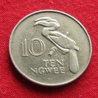 Zambia 10 Ngwee 1978 KM# 12 Zambie - Zambie