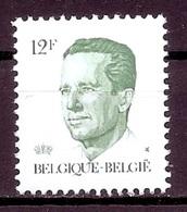 BELGIE * Nr 2113 * Postfris Xx * DOF WIT PAPIER - GELE GOM - 1981-1990 Velghe