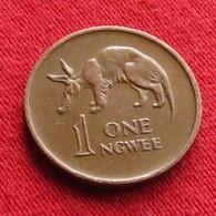 Zambia 1 Ngwee 1972 KM# 9 *V1 Zambie - Zambia