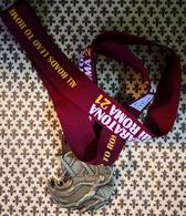 ITALIA 2015, ORIGINAL BRONZE MEDAL 21TH INTERNATIONAL ROME MARATHON - Athlétisme