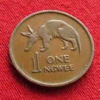 Zambia 1 Ngwee 1969 KM# 9 *V1  Zambie - Zambie