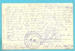 Foto-kaart Stempel KRIEGSGEFANGENEN-LAGER HALLE  20/8/15 - Occupation 1914-18