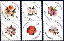Nicaragua 1986 Roses - Nicaragua