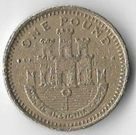 Gibraltar 1999 £1 [C784/2D] - Gibraltar