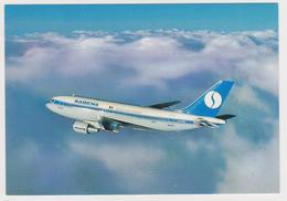[863] SABENA. Airbus A310. Carte Postale Officielle / Official Postcard (1985).- Non écrite. Unused. No Escrita. - 1946-....: Era Moderna