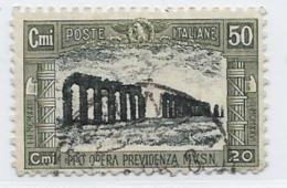 Italy, Scott # B31 Used Aqueduct, 1928 - 1900-44 Victor Emmanuel III