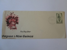 Papua New Guinea-FDC From 1961,see Pictures - Papouasie-Nouvelle-Guinée