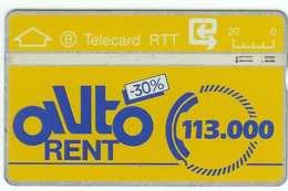 1989 : 906D SMALL Ctrl: 906D00083 (N) S6 AUTORENT USED (Printed:100000) - Belgio