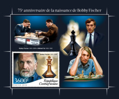 Central Africa  2018   Bobby Fischer Chess  S201810 - Central African Republic