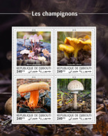 Djibouti  2018  Mushrooms  S201810 - Djibouti (1977-...)