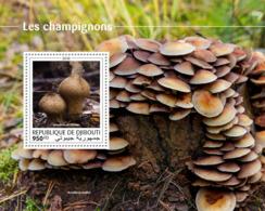 Djibouti  2018  Mushrooms  S201810 - Dschibuti (1977-...)