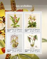 Djibouti  2018  Orchids  S201810 - Djibouti (1977-...)